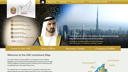 UAE Investment Map